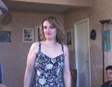 8355 - Jeune femme cochonne partouze avec 5 types