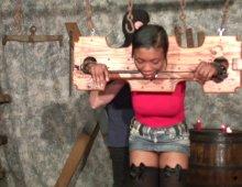 9386 - Humiliation d'une femme black
