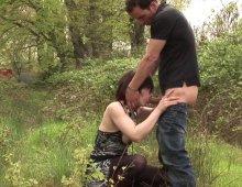 10561 - Vidéo porno d'une baise dans les bois