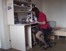 11339 - Une étudiante sexy pratique la sodomie