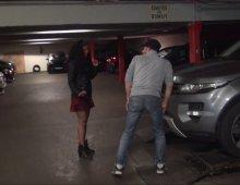 12719 - Jeune salope sodomisée dans un parking de Paris