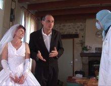13257 - Femme baise le jour de son mariage