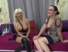 14351 - Casting sexe avec une femme blonde à gros seins très chaude