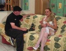 14913 - Casting X amateur avec une blonde en rut