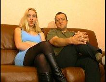 15265 - Un couple amateur passe un casting porno