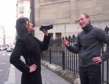 16508 - Hellsya baise un inconnu avec son caméscope en main