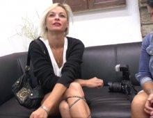 17476 - Une sublime femme mûre blonde coquine