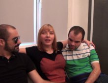 17850 - Baise ma femme blonde dans un trio