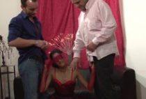 27601 210x142 - Jeune femme arabe sodomisée par des keums virulents