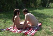 27737 210x142 - Jeune couple libertin et papy forniquent en forêt