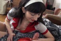 28265 210x142 - Lilou se déguise en infirmière nympho