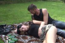 29185 210x142 - Natacha se fait bourrer le cul sur l'herbe