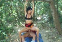 Baise en forêt avec un couple de gitans de France