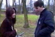 Brunette française baisée par un inconnu