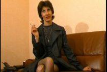 Casting porno de la fervente femme mature Aurélie