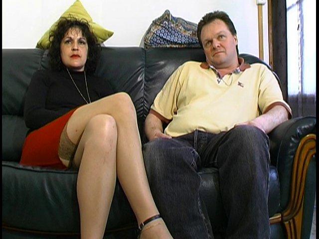75 1 - Anna-Maria et Didier couple amateur Français passent casting sexe