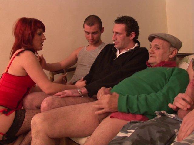 978 1 - gang banguer pour son plus grand plaisir par quatre mecs